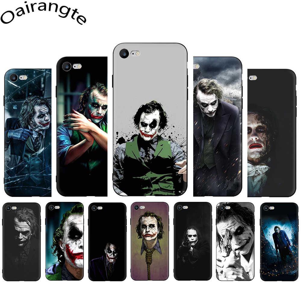 ヒース · レジャージョーカーソフトシリコーン電話カバー iphone 5 5s SE 6 6s 7 8 プラス X XR XS 11 プロマックス