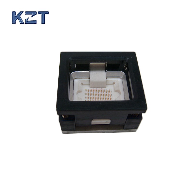 Alloy Open-top IC Test Socket Burn in Socket/Adapter qfn48 0 5 ic test block adapter test bench burn in