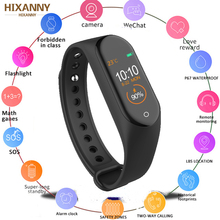 New M4 Smart Band Wristbands Fitness Tracker Health Heart Rate Blood Pressure Monitor Bluetooth Sports Bracelet PK Mi Band 4 3 2019 activity band smart wristbands sports bluetooth fitness tracker bracelet smart band smart bracelet health tracker