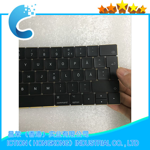 Original New A1706 Keyboard Sweden Swedish for Apple Macbook 13.3 A1706 Sweden Swedish Keyboard Late 2016 Mid 2017 Year sweden slovakia
