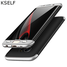 KSELF Phone Case For Samsung Galaxy S9 S6 S7 Edge S8 S8 Plus 360 Degree Full Protective Case For Samsung Galaxy S9 Plus S8 S7 все цены