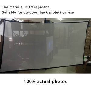 Image 3 - Touyinger 100 Inch 16:9 Outdoor Simple Portable Screen Travel Front & Rear projection screen Night Super thin projection screen