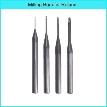 Roland milling burs  with DLC coating for dental zirconia block