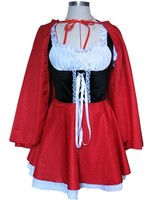 Hot Sexy Dres Plus Size S M L XL XXL XXXL 4XL Costume Adult Little Red