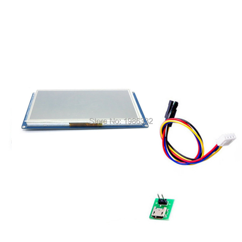 WS16 7 0 7 Inch Nextion TFT Touch Screen UART HMI Smart LCD Module Display Panel