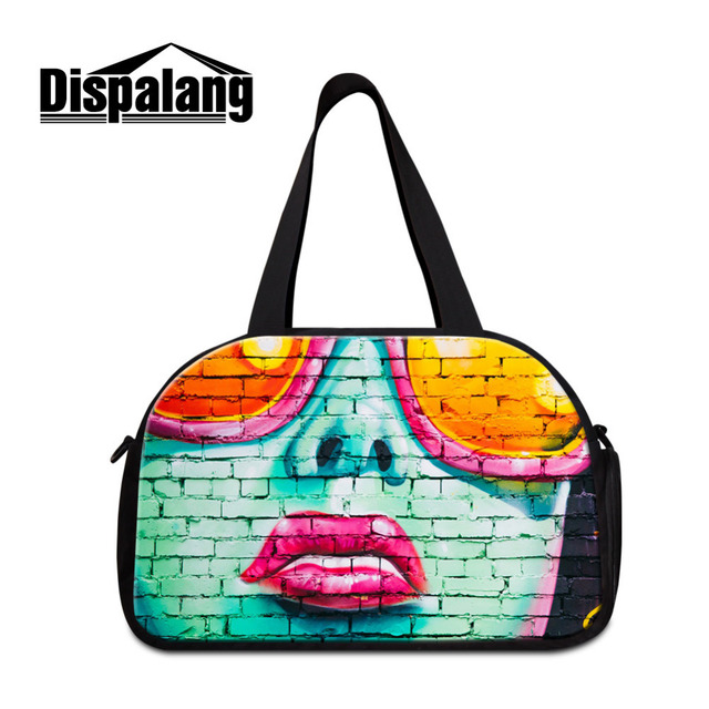 fd568bad754c00 Dispalang Brick Travel Bag Large Capacity Men Hand Luggage Travel Duffle  Bags Canvas Weekend Bags Multifunctional Travel Bags