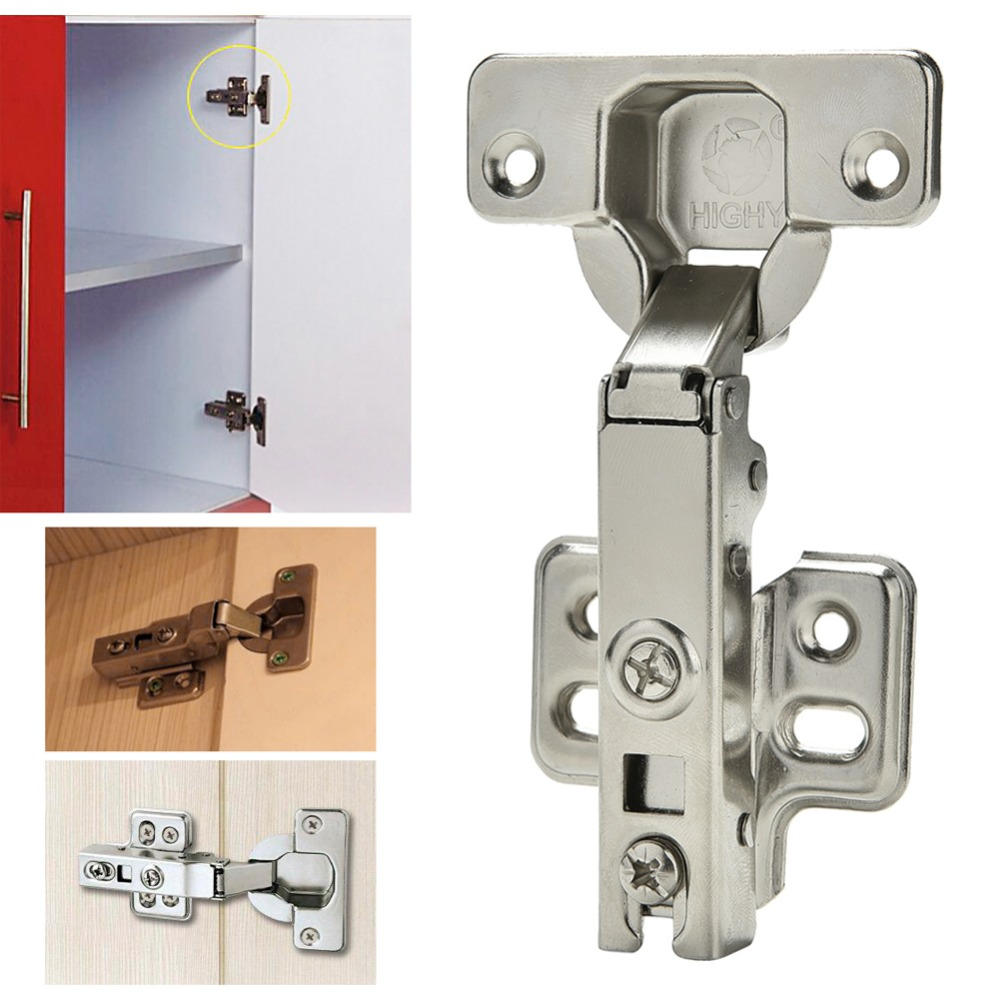 Soft Close Full Overlay Kitchen Cabinet Cupboard Hydraulic Door 35mm Hinge Cups -P101 4pcs naierdi c serie hinge stainless steel door hydraulic hinges damper buffer soft close for cabinet kitchen furniture hardware