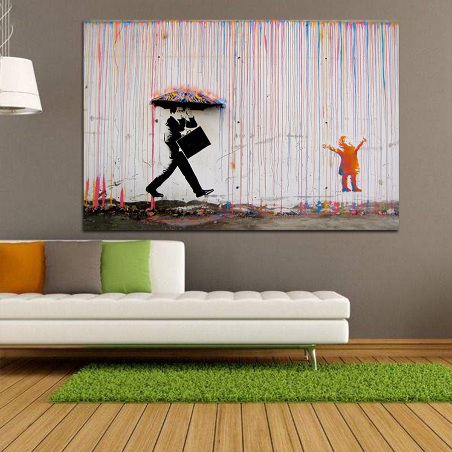 Banksy-Art-Graffiti-Colorful-Rain-Prints-on-Canvas-Modern-Canvas-Painting-Wall-Art-Posters-and-Prints (2)