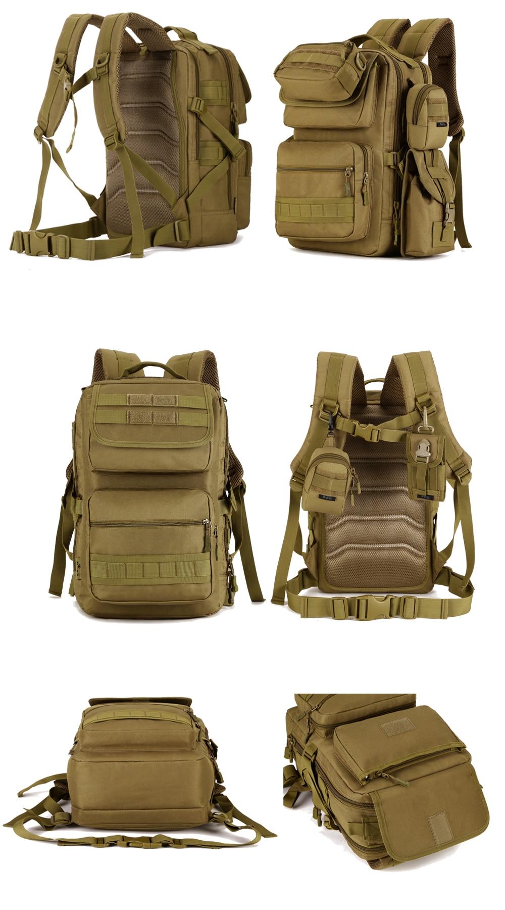Homem 25l militar tático mochila de trekking
