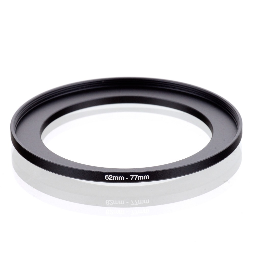 Original RISE(UK) 62mm-77mm 62-77mm 62 To 77 Step Up Ring Filter Adapter Black