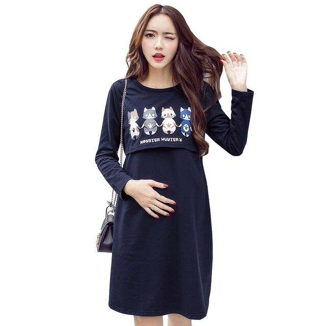 Langarm kleider fur schwangere