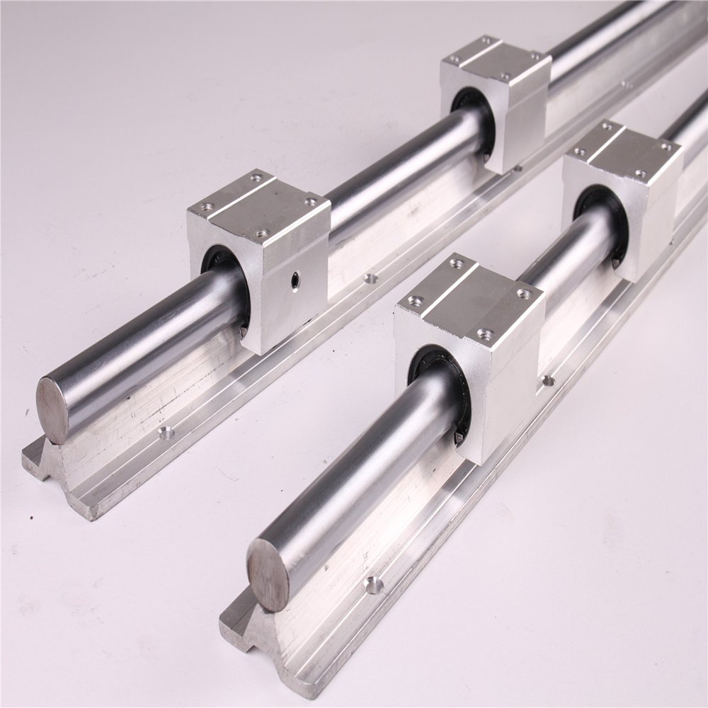Image 3 - 2pcs SBR20 200 2000mm Linear Guide Rail and 4pcs SBR20UU Linear Bearing Blocks for CNC parts 20mm Linear Rail-in Linear Guides from Home Improvement