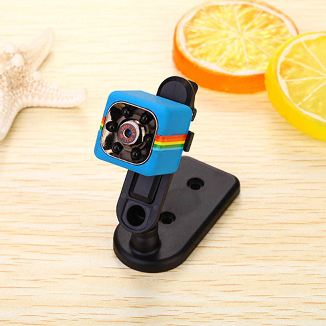 HONGDAK Cute Mini Camera SQ11 HD 1080P Camcorder HD Night Vision Mini Camera Aerial Sports Mini DV Voice Video Record