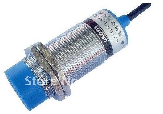 Inductive Proximity Sensor LJ30A3 15 Z AY PNP 3 wire NC Proximity Switch free shipping