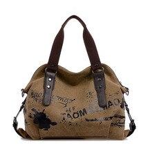 2017 Vintage Women Handbag Premium Canvas Ladies Tote bag Large Capacity Female Work Bag Blue Brown Red Big Shopper Bag For Girl