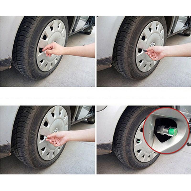 Image 5 - 4PCS Car Tire Pressure Sensor 2.2 2.4 2.5 Bar Valve Stem Cap Air Tire Pressure Alarm Alert Tire Pressure Monitoring Tools Kit-in Tire Pressure Alarm from Automobiles & Motorcycles