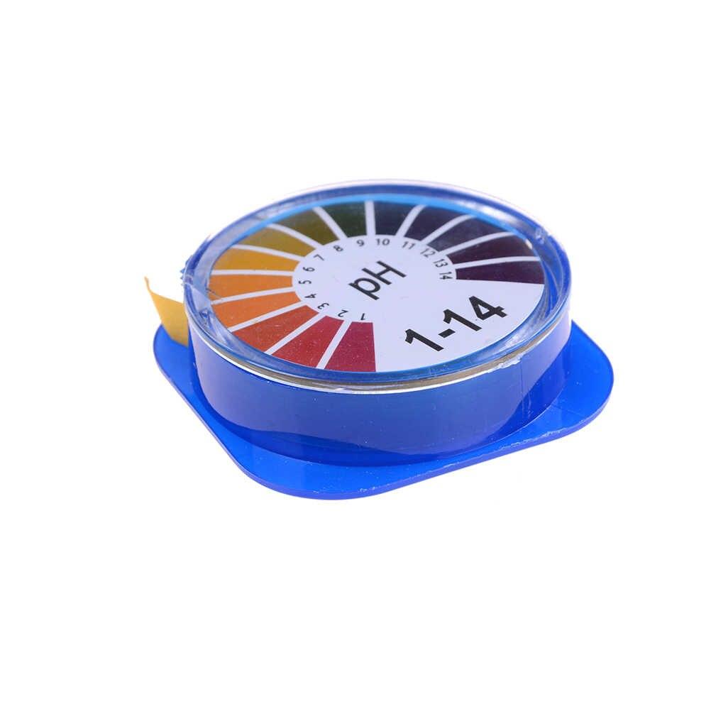 1 rolka 3 m pH kwas alkaliczny papier testowy wody lakmusowy do ogrodnictwa akwarium roślin gorące