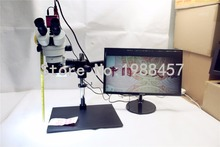 Wholesale prices 3.5X~90X Trinocular Guide Stereo Zoom Microscope With HDMI Video Camera 25cm Working Distance PCB Inspection Phone Repair
