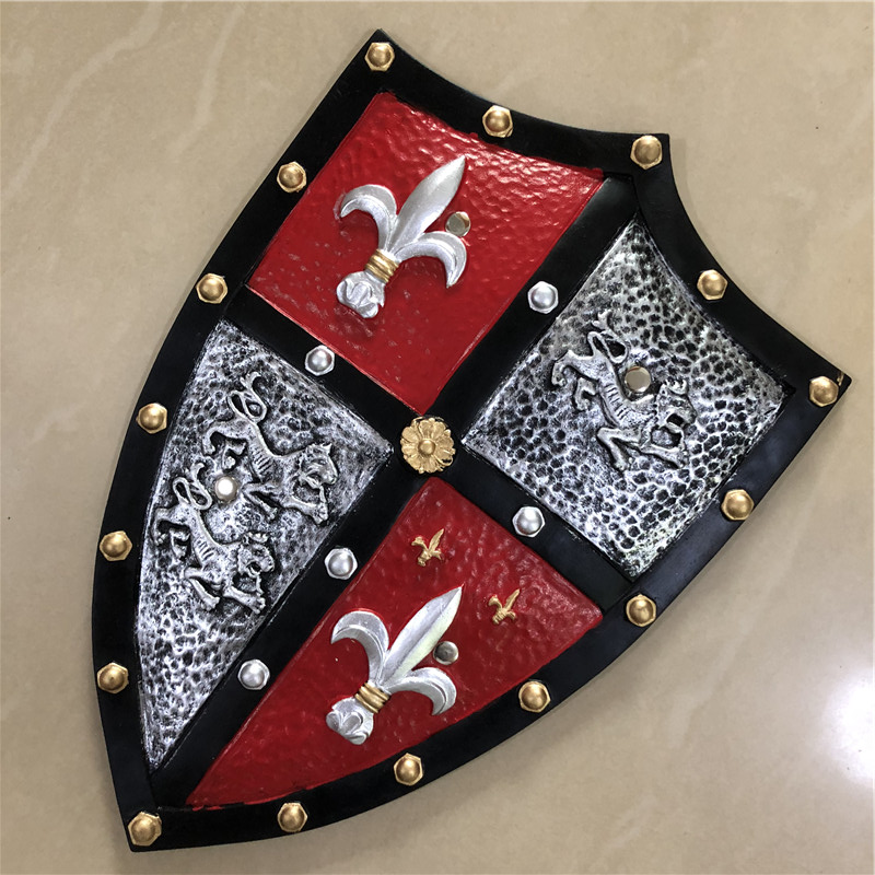 Cosplay 1:1 Trident Silver leopard Power Knight Shield Anime Game PU Weapon Prop Role Play Action Figure Model Christmas Gift 1