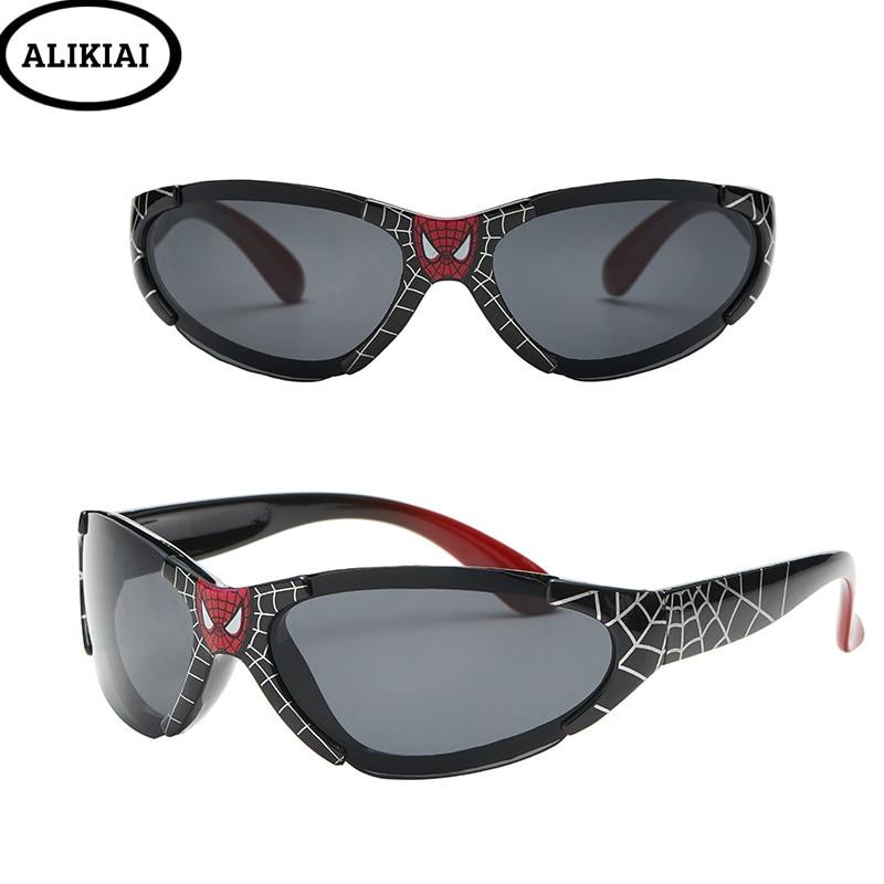 3-14 Years Baby Boys Girls Spiderman Sunglasses 2019 Kids Sunglasses European Standard Certification Oculos De Sol Gafas Uv400