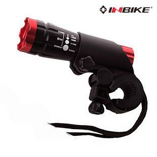 INBIKE Headlights light focusable flashlight bicycle lights MTB file zoom