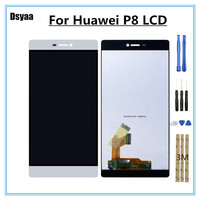 5.2inch for Huawei P8 Standard Display Touch Digitizer Assembly GRA UL00 UL10 GRA L09 GRA CL10 CL00 Lcd Mobile Phone Parts