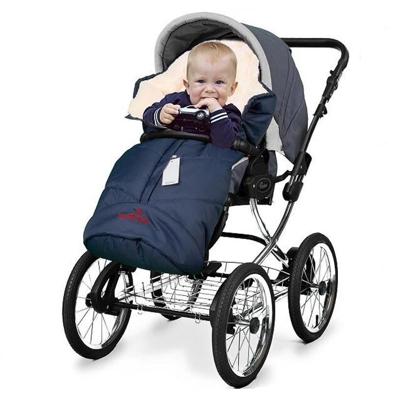 Baby swaddle infant wrap children kids stroller cart foot cover children thicken for Russia winter envelope sleeping bag