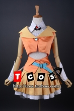 Envío libre más nuevo Vocaloid GUMI fórmula ropa vestido Cosplay Perfect custom for you