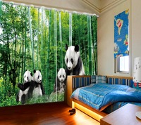 Children Sheer Curtains Green Bamboo Curtains For Windows Modern Hotel Office Home Decoration Curtain Drapes Shade Blinds