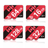 AEGO Micro SD 16GB Class10 Flash Memory Card 8GB/16GB/64GB/128GB UHS-1 Micro SD TF Card For Smartphone Tablet Camera