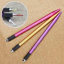Fog Eyebrow Microblading Pen Tattoo Machine For Semi Permanent Makeup Eyebrow Tatoo Manual Blade For All Round Needles Cosmetics