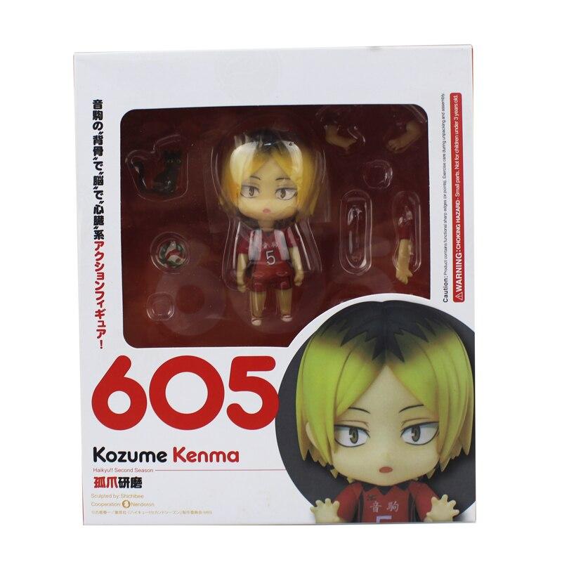 Kozume Kenma PVC Action Figure Toy 10cm New in Box Nendoroid 605 Haikyuu! BEST