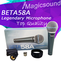 Upgrade Version BETA 58A !! Professional Super-Cardioid Wired Stage Handheld Karaoke Dynamic Microphone Mic BETA58 Beta 58 A