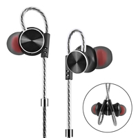 In Ear Earphone Super Bass Sound Quality Music With Mic 3 5mm Stereo Earbud Magnetic Adsorption