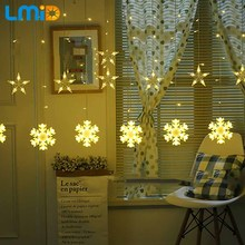 hot deal buy lmid holiday lighting led lights decoration string christmas lights indoor string lights outdoor led party decoration curtain