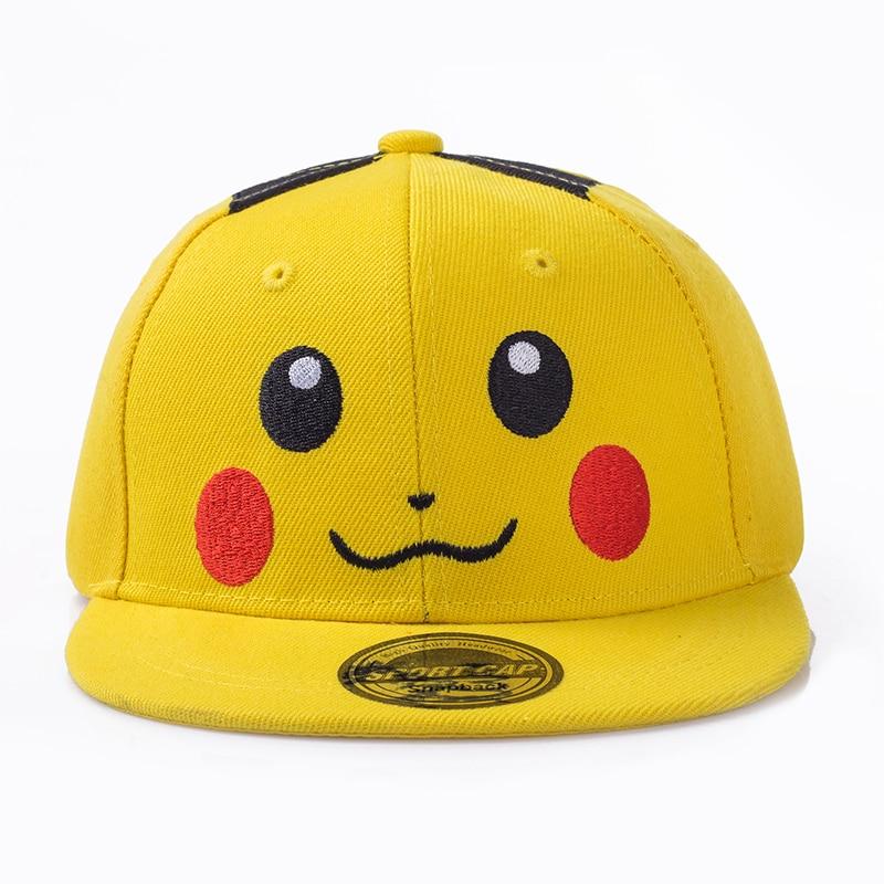 pokemon Fesyen sterbakov little boy little girl cartoon hip hop hat - Aksesori pakaian - Foto 2