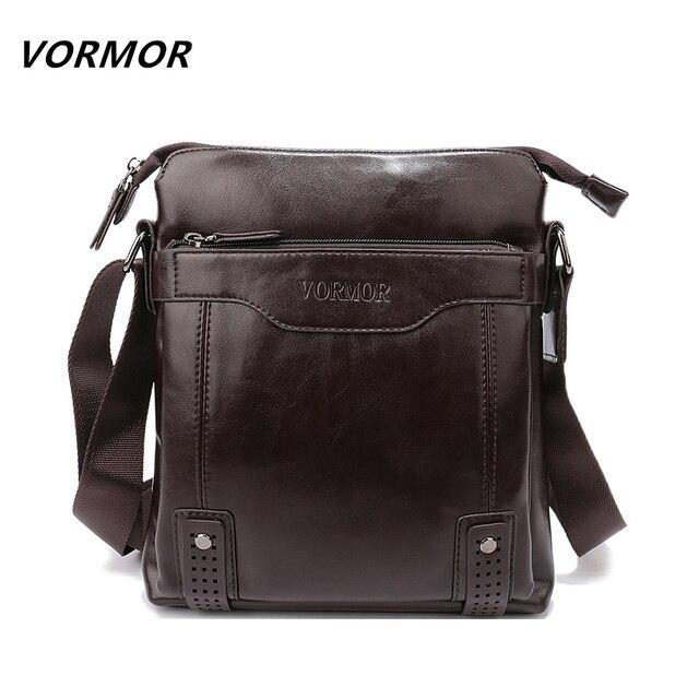 Vormor oficina de la cartera de marca de moda de cuero de la pu bolsas de mensajero de los hombres bolsa de los hombres, de Viaje de calidad Del Bolso para el Hombre
