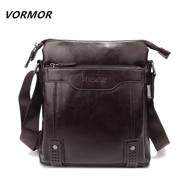 Vormor sacos do mensageiro dos homens marca de moda couro pu portfolio escritório homens saco, qualidade Bolsa de Ombro Bolsa de Viagem para o Homem