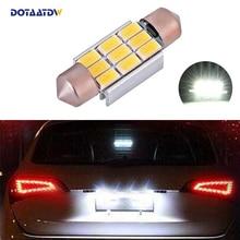 DOTAATDW 1x автомобиль вел ошибок 36 мм C5W 5630 SMD лампа 12 В номерной знак свет для BMW e39 E36 E46 E90 E60 E30 E53 E70