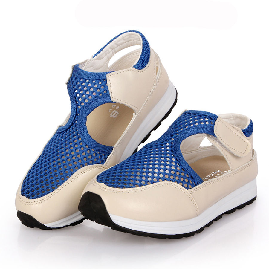 Roller shoes shop - Summer Air Mesh Breathable Cut Outs Kids Sneakers 2016 New Fashion Children Shoes Boys Girls Sandals Zapatillas Deportivas Nin