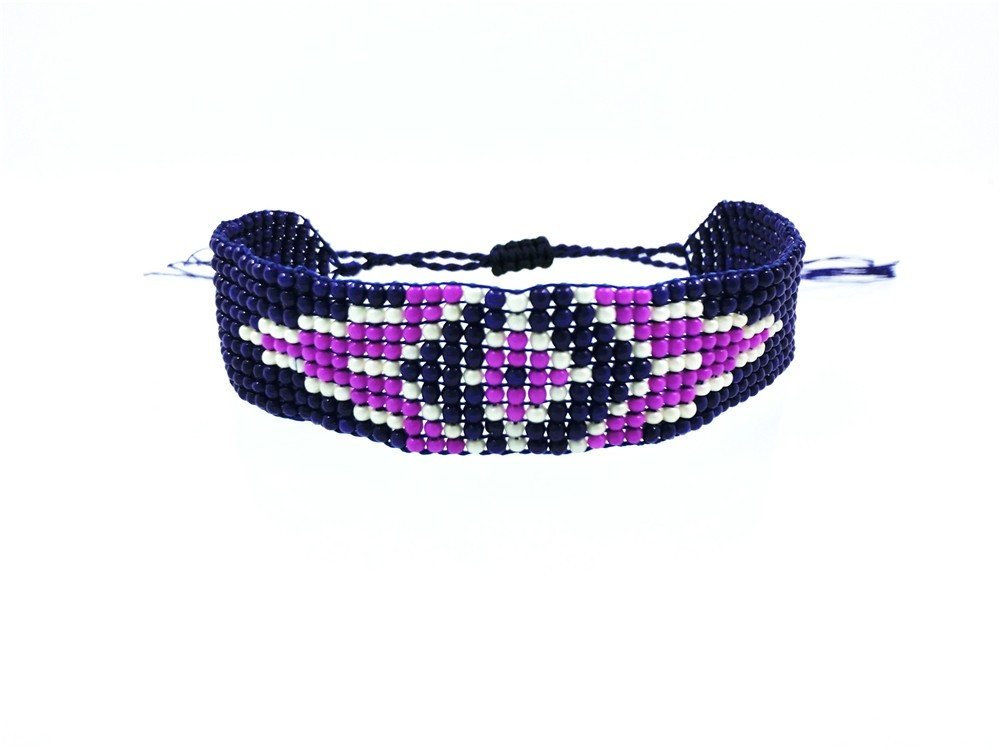 AMIU Handmade Seed Beads Friendship Bracelet Beaded Custom Mix-Colour Eye Friendship Bracelets For Women Men 18 Dropshipping 18