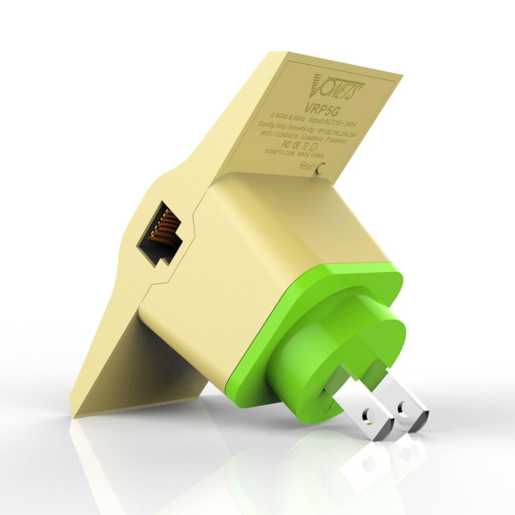 2019 nouveau répéteur WiFi sans fil 2.4G/5G double bande WIFI répéteur gamme Extender Signal Boosters US/EU prise faible consommation d'énergie