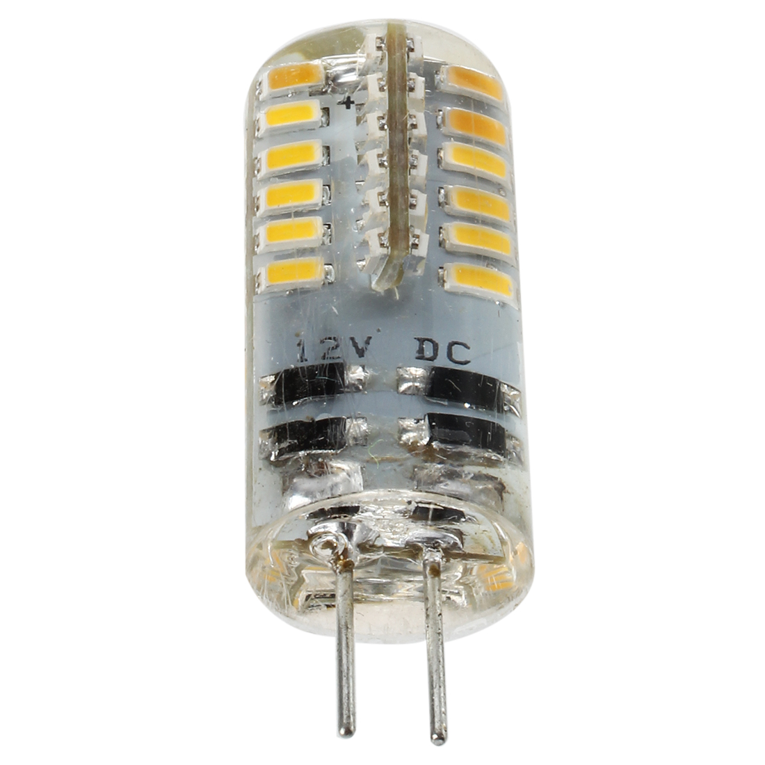 2W G4 48 3014 SMD LED Lamp AC / DC12V Warm White Light For Home-use