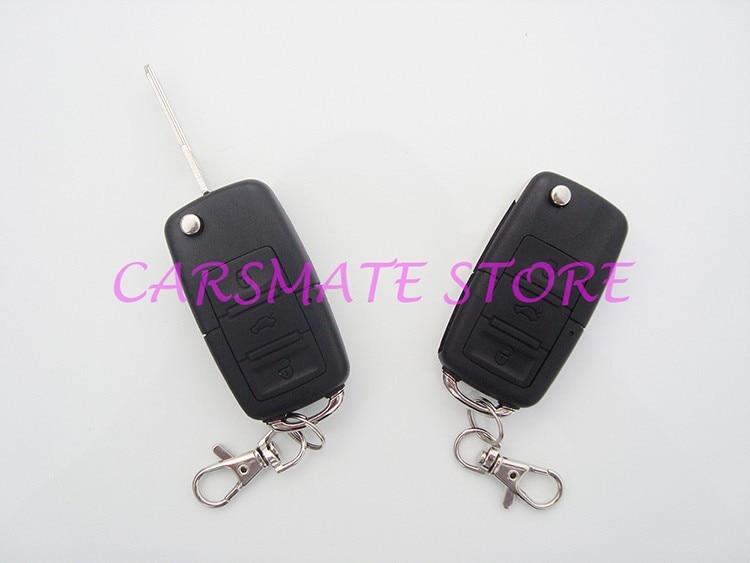 Автомобильный Центральный дистанционный дверной замок подходит для В автомобилей DC 12 В с 2 флип-клавишами дистанционного передатчика для всех В 12 В автомобилей Carsmate