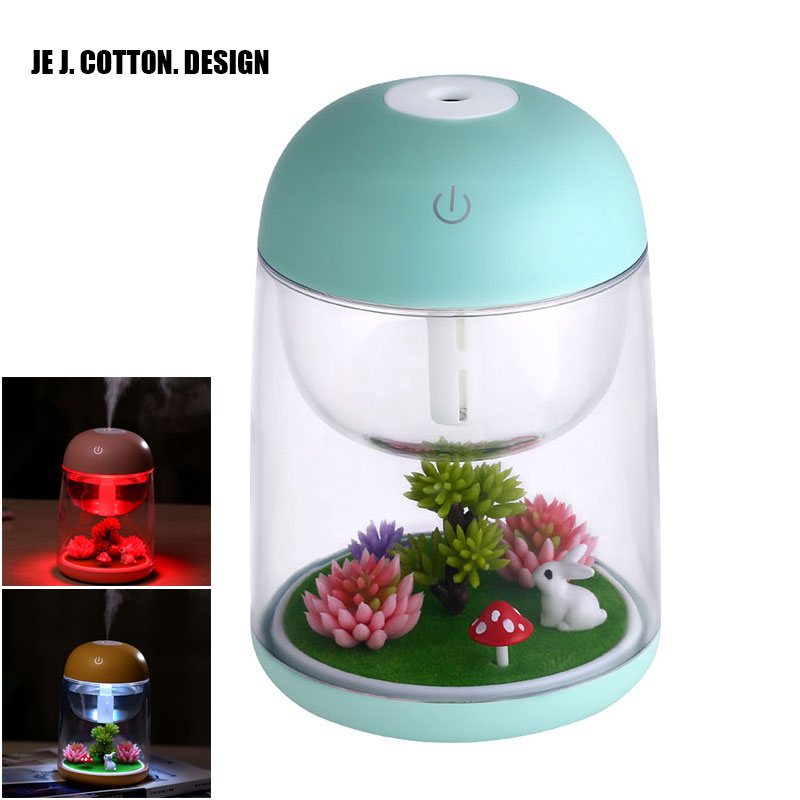 180ml Landscape LED Ultrasonic Air Humidifier Home Appliances Mist Maker USB Fogger Aroma Essential Oil Diffuser with Light remote control air humidifier essential oil diffuser ultrasonic mist maker fogger ultrasonic aroma diffuser atomizer 7 color led