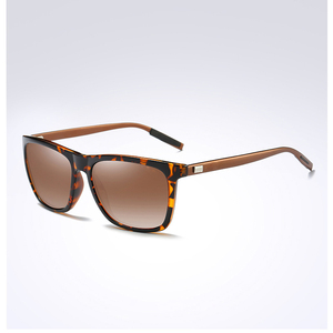 Image 3 - למעלה איכות גברים מקוטב משקפי שמש יוקרה מותג מעצב 2019 אופנה טייס נהיגה משקפיים שמש Mens שחור מחשב משקפי שמש
