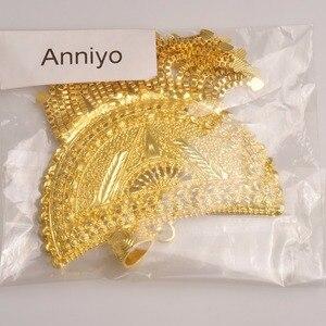 Image 5 - Anniyo מאוד גדול אפריקה תליון שרשראות לנשים זהב צבע האתיופית/ניגריה/קונגו/סודן/גאנה/תכשיטים ערבים #098506