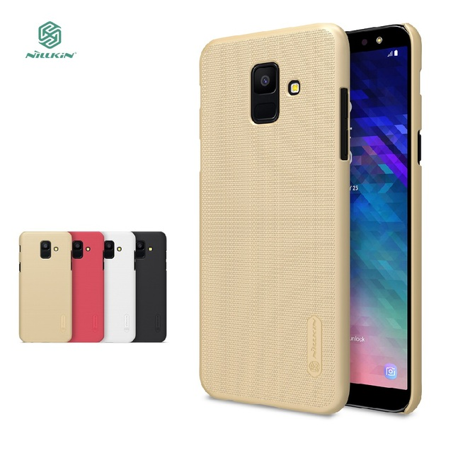 sale retailer 8886b 817aa US $7.99 30% OFF|Nillkin Hard Case For Samsung Galaxy A6 Cover Back  Protective Phone House For Samsung A6+ A6 Plus A9 Star lite -in  Half-wrapped Case ...