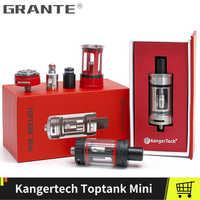 Original Kangertech Toptank Mini Atomizer 4.0ml Top Refilling Tank 510 thread 510 Drip Tip With 0.5ohm SSOCC Coil Vape Tank