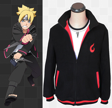 Anime Naruto Uzumaki Boruto Fleeces Cosplay Kostuum Boruto Casual Hoodie Dagelijkse Jas